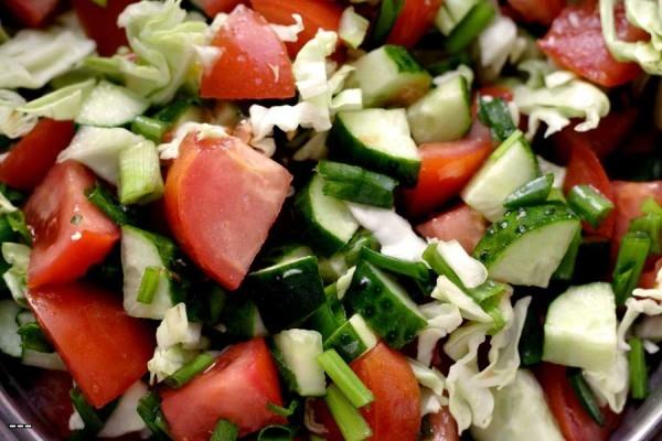 салат осенний рецепт из овощей